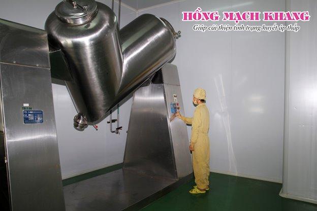 Sản phẩm Hồng Mạch Khang được sản xuất ở đâu?
